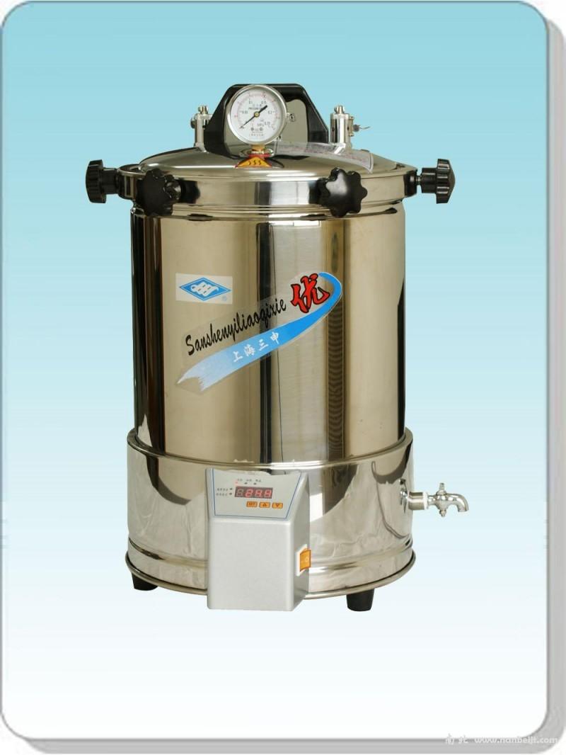 YX280A*手提式不锈钢压力蒸汽灭菌器(定时数控)