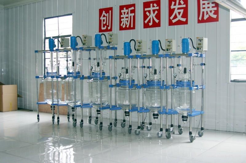 <b>NB-EX30L防爆双层玻璃反应釜</b>