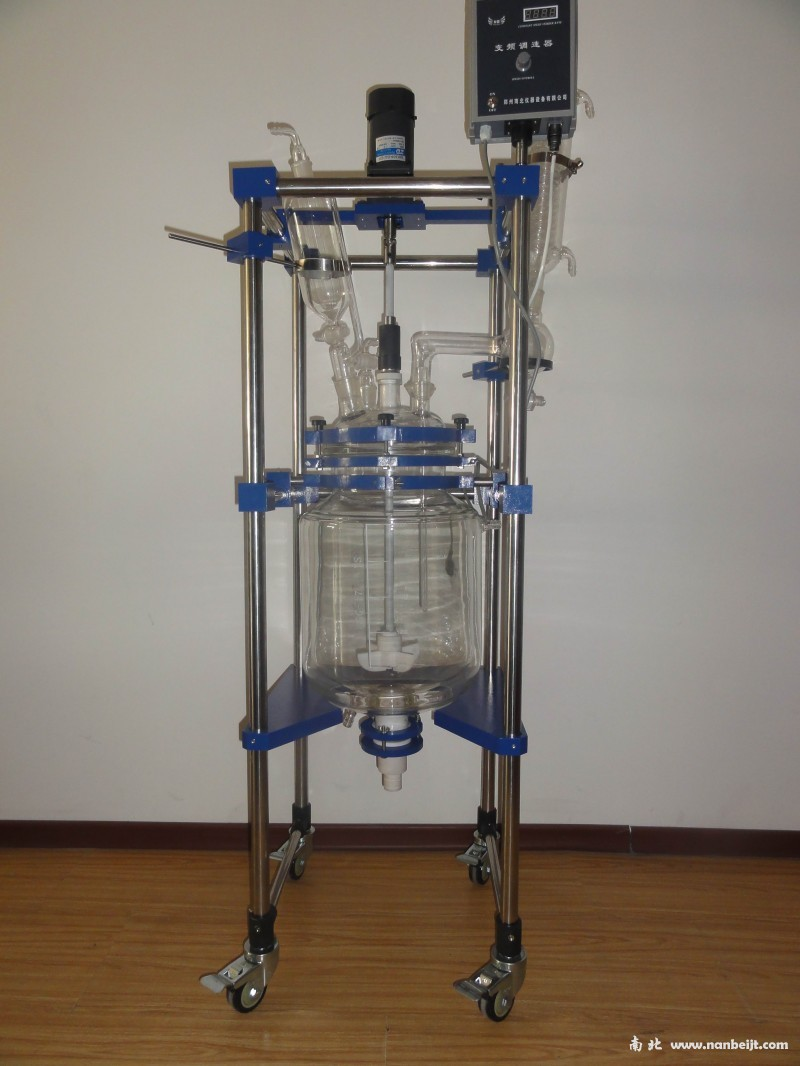 <b>NB-EX50L防爆双层玻璃反应釜</b>