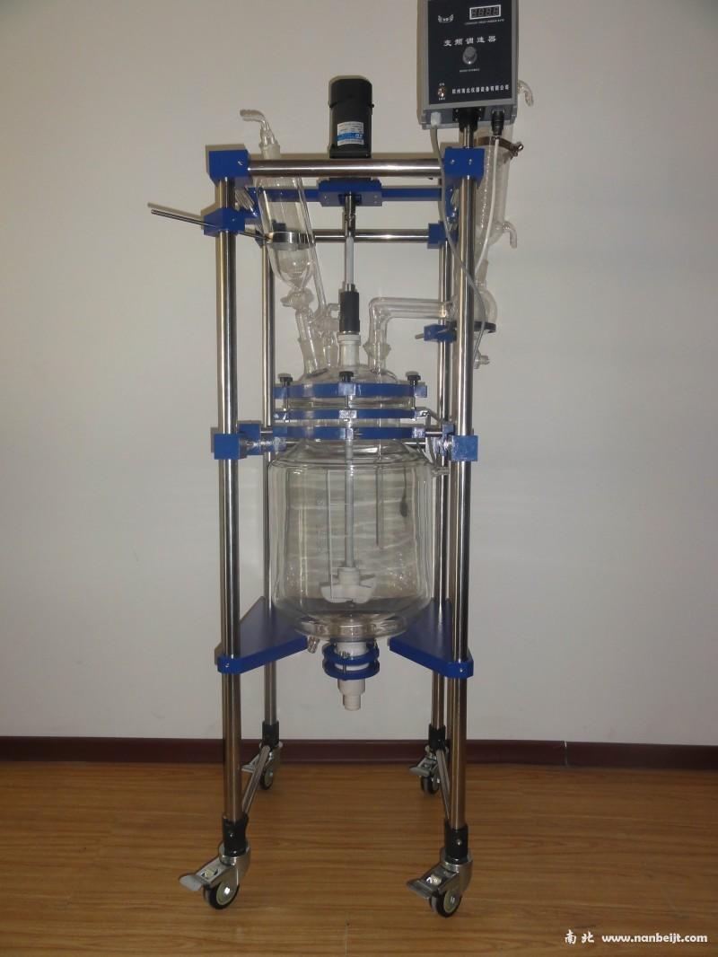 NB-EX100L防爆双层玻璃反应釜