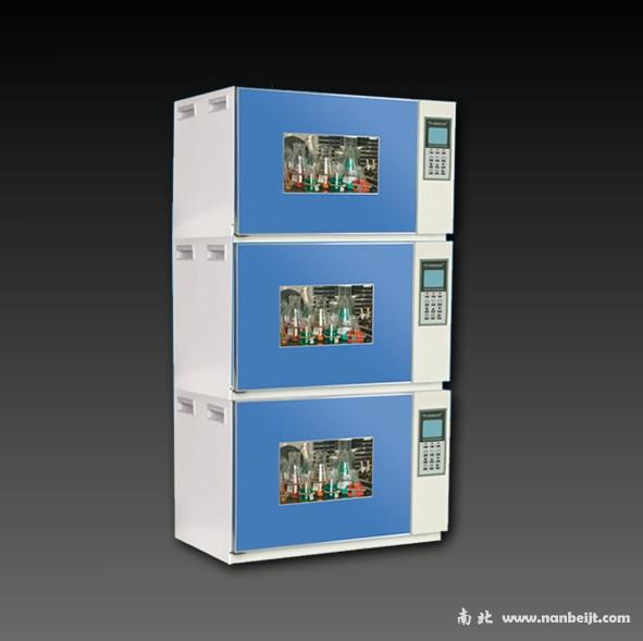 叠加式小容量全温度恒温培养摇床HNY-210B