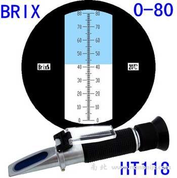 HT118ATC手持糖度计折射仪(0-80)